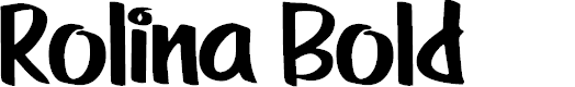 Preview image for Rolina Bold Font