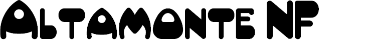 Preview image for AltamonteNF Font