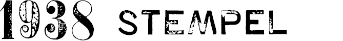 Preview image for 1938 STeMPEL Font