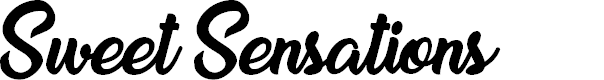 Preview image for Sweet Sensations Personal Use Font