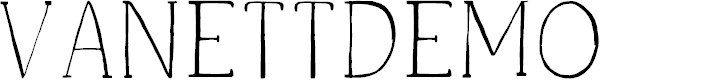 Preview image for VanettDemo Font