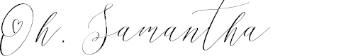 Preview image for Oh, Samantha Font