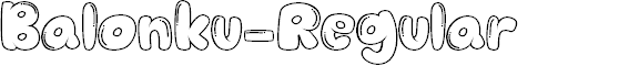 Preview image for Balonku-Regular