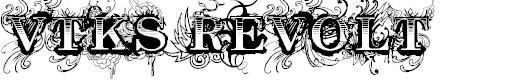Preview image for Vtks Revolt Font