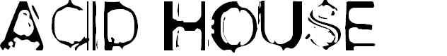 Preview image for Acid House Font