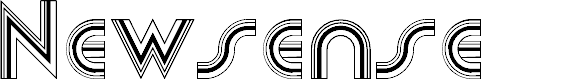Preview image for Newsense Font