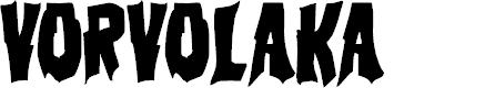 Preview image for Vorvolaka Condensed