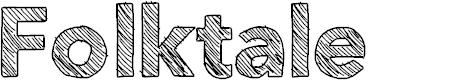 Preview image for Folktale Font