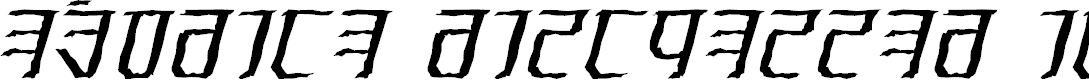 Preview image for Exodite Distressed Italic