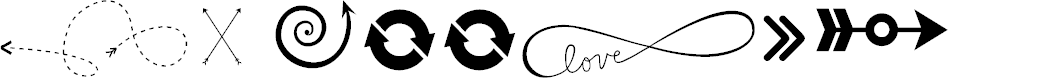 Preview image for KG Arrows Font