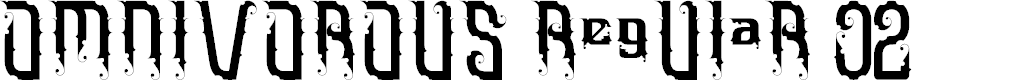 Preview image for Omnivorous Regular 02 Font