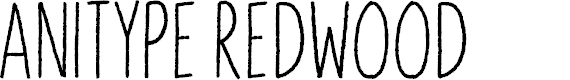 Preview image for Anitype Redwood 2 Font