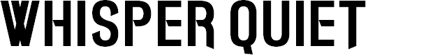 Preview image for Whisper Quiet Font