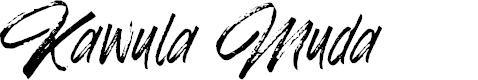 Preview image for Kawula Muda Font