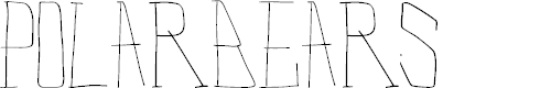 Polar Bears by Xerographer Fonts