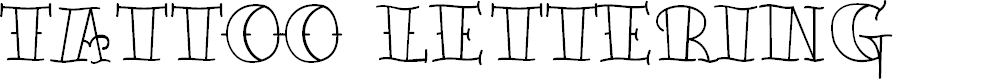 Preview image for TattooLetteringOpen
