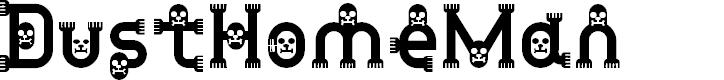 Preview image for DustHomeMan Medium Font