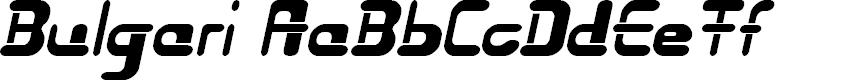 Preview image for Bulgari Font