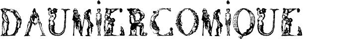 Preview image for DaumierComique1836 Font