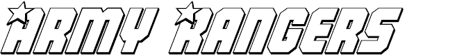 Preview image for Army Rangers 3D Italic