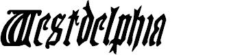 Preview image for Westdelphia Condensed Italic