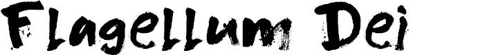 Preview image for DK Flagellum Dei Regular Font