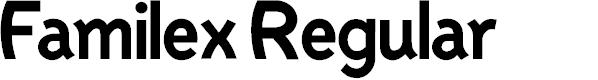 Preview image for Familex Regular Font