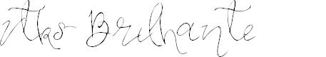 Preview image for Vtks Brilhante Font