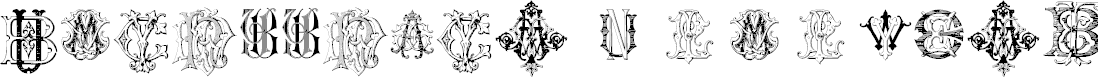 Preview image for Intellecta Monograms Random Samples