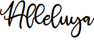 Preview image for Alleluya Font