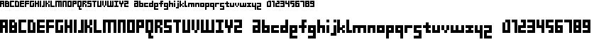 Preview image for D3 Beatmapism Font