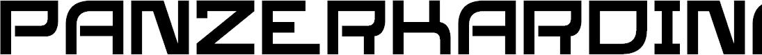 Preview image for SL Panzerkardinal Font