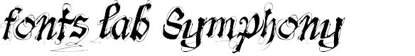 Preview image for font-lab's Symphony Font