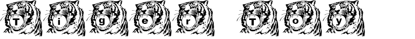 Preview image for LMS Tiger Toy Font