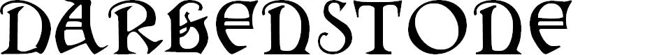 Preview image for Darkenstone Font