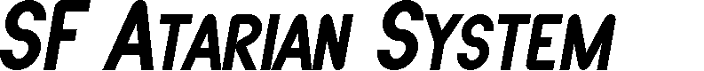 Preview image for SF Atarian System Bold Italic