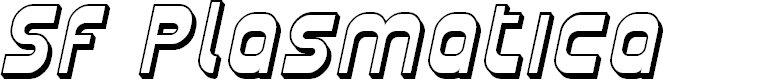 Preview image for SF Plasmatica Shaded Italic
