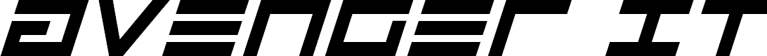 Preview image for Avenger Italic