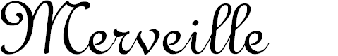 Preview image for Merveille Font
