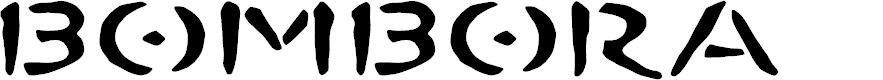 Preview image for BOMBORA Font