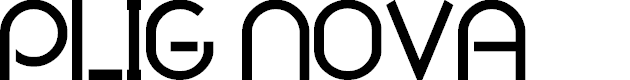 Preview image for Plig nova Font