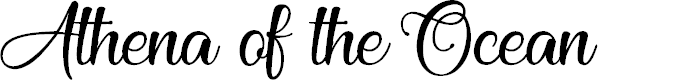 Preview image for Athena of theOcean Font
