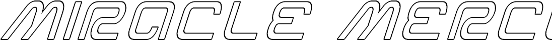 Preview image for Miracle Mercury Outline Italic