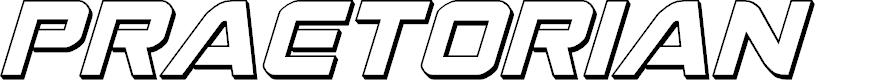 Preview image for Praetorian 3D Italic