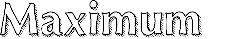 Preview image for Maximum Font