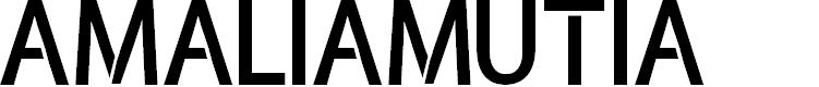 Preview image for amaliamutia Font