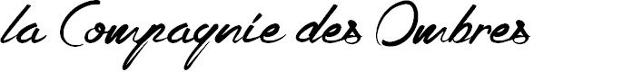 Preview image for la Compagnie des Ombres Font