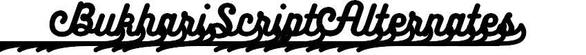 Preview image for BukhariScript Alternates