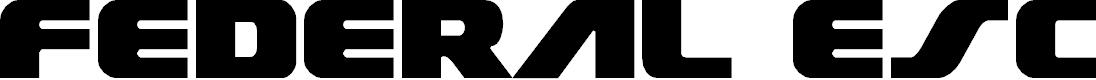 Preview image for Federal Escort Regular Font