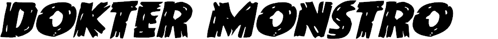 Preview image for Dokter Monstro Expanded Italic